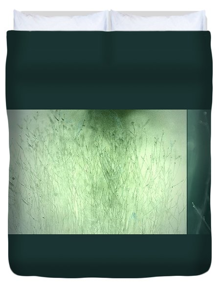 Duvet Cover featuring the photograph Surface by Mark Ross