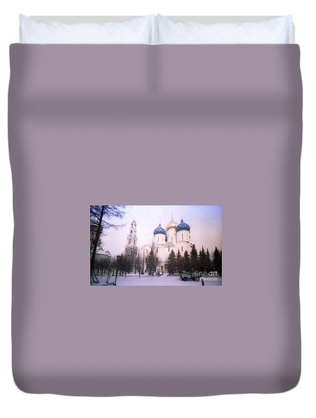 Suzdal  Russia Church Duvet Cover