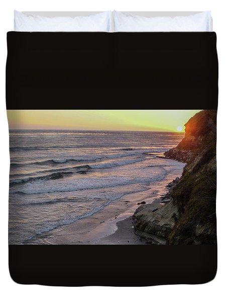 Swamis Sunset Duvet Cover