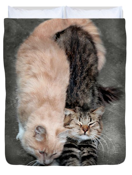Sweet Couple Duvet Cover
