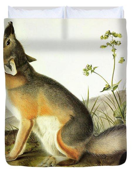 Swift Fox Duvet Cover