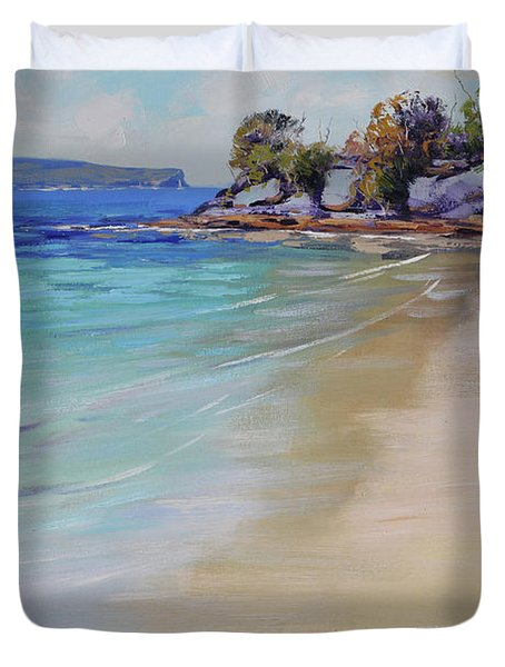Sydney Harbour Beach Duvet Cover