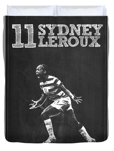 Sydney Leroux Duvet Cover by Semih Yurdabak
