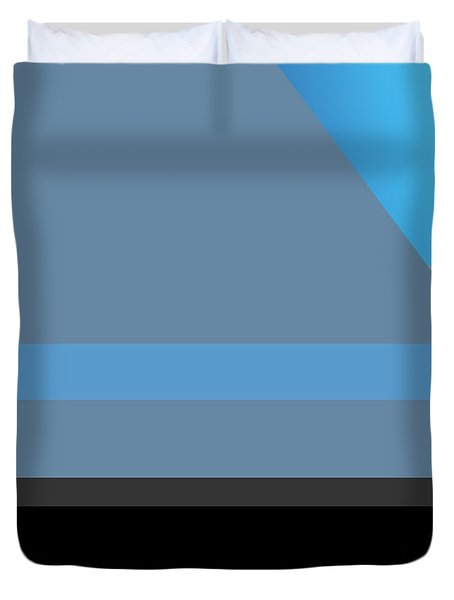Symphony In Blue - Movement 1 - 2 Duvet Cover