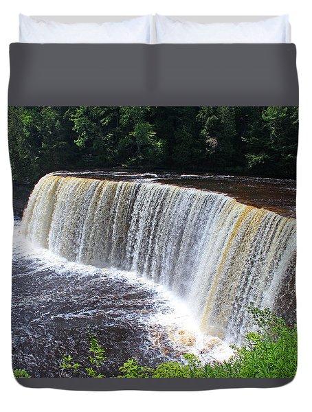 Tahquamenon Upper Falls IIi Duvet Cover