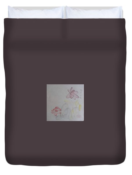 Take It Easy Duvet Cover