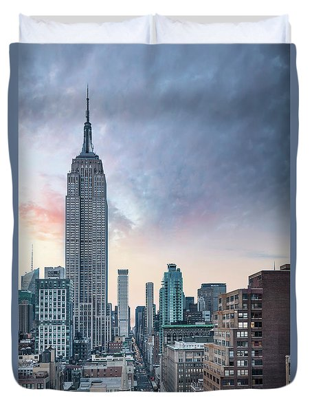 Take It To The Top Duvet Cover