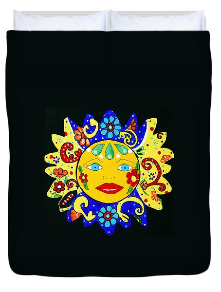 Talavera Sun Duvet Cover