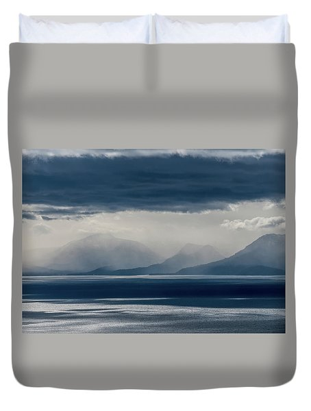 Tallac Stormclouds Duvet Cover
