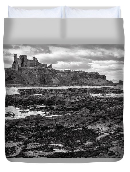 Tantallon Castle Duvet Cover