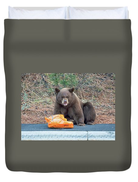 Taste Of The Wild Duvet Cover