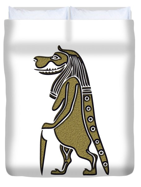 Taweret - Mythical Creature Of Ancient Egypt Duvet Cover