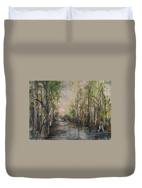 Bayou Liberty Duvet Cover by Robin Miller-Bookhout