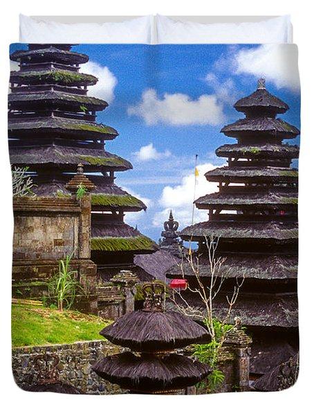 Temple City Duvet Cover