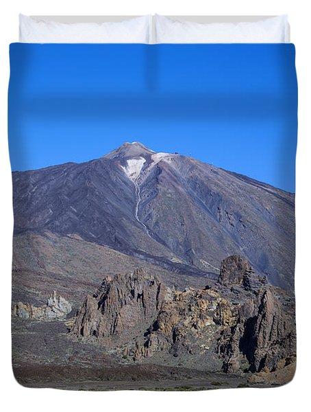 Tenerife - Mount Teide Duvet Cover
