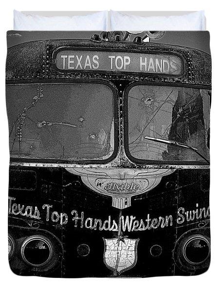 Texas Top  Hands Duvet Cover