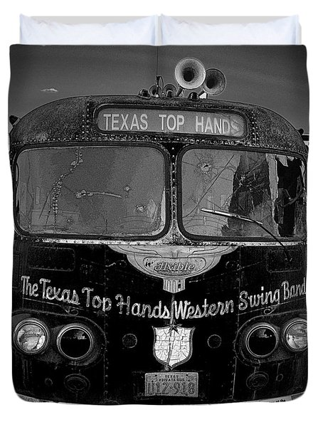 Texas Top  Hands Duvet Cover