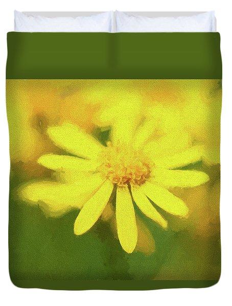 Texas Wildflower 2 Duvet Cover