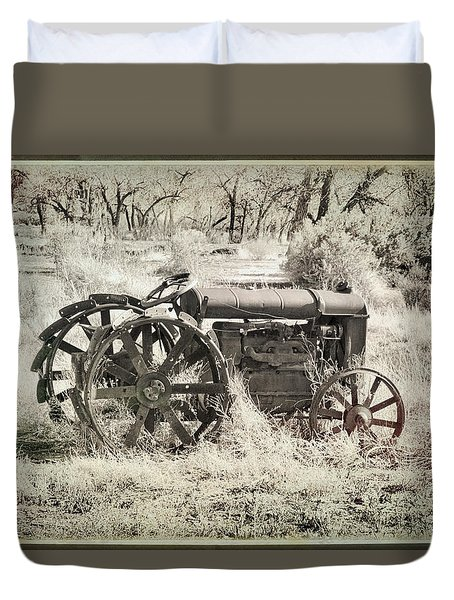 That There Tractor Duvet Cover