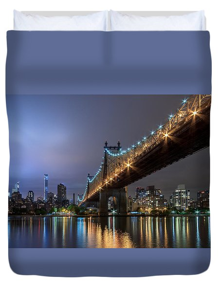 The 59th St Bridge  Duvet Cover