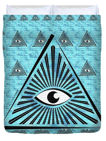 The All-seeing Eye Duvet Cover