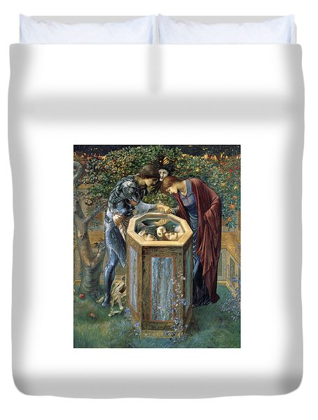 The Baleful Head Duvet Cover