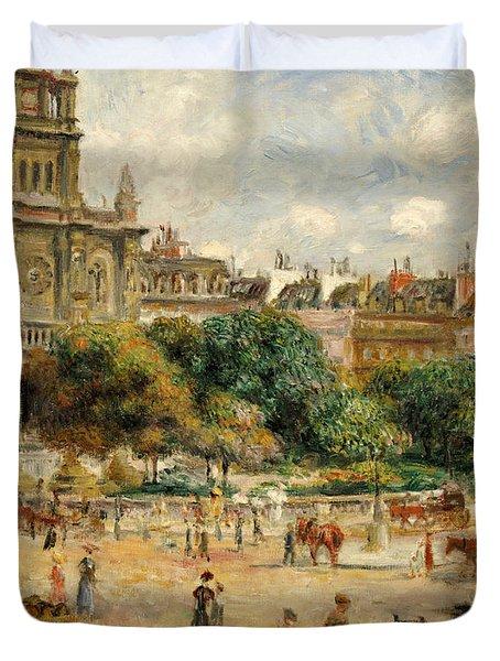 Place De La Trinite, 1893 Duvet Cover