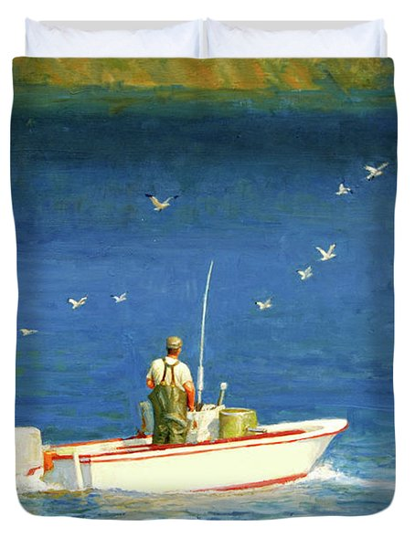 The Bayman Duvet Cover