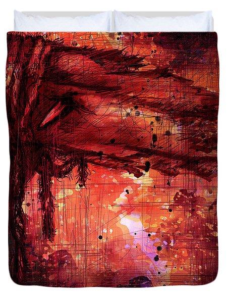 The Beloved Duvet Cover by Rachel Christine Nowicki