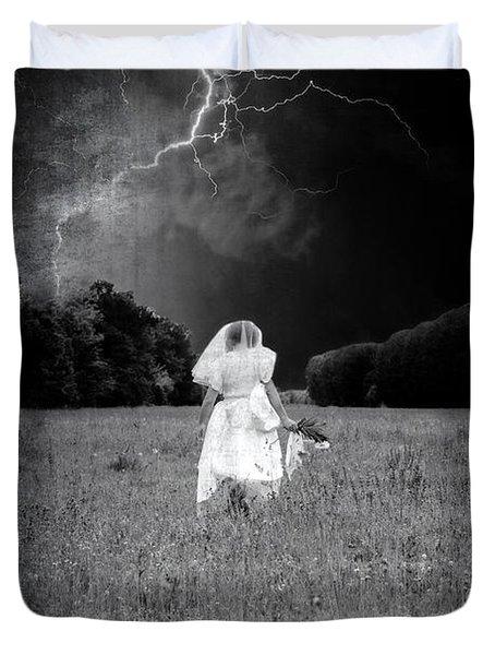 The Bride Duvet Cover by Joana Kruse