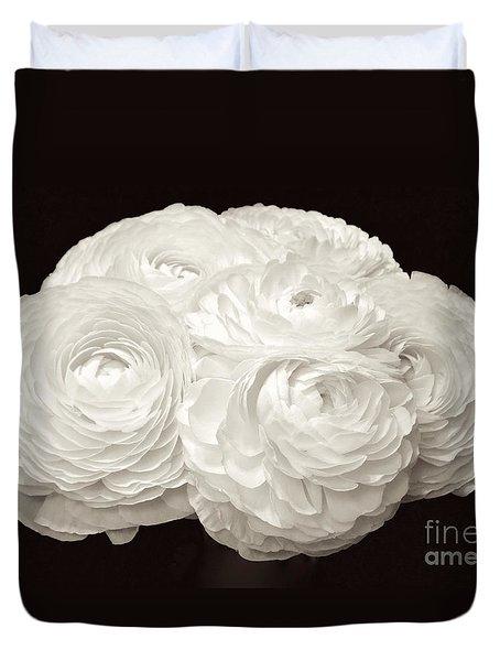 The Brides Bouquet Duvet Cover by Jeannie Rhode