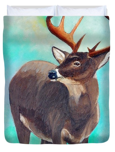 the Buck Stops Here Duvet Cover