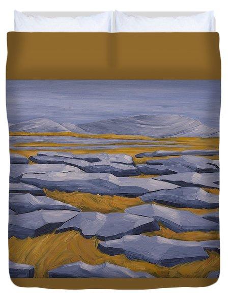 The Burren Duvet Cover