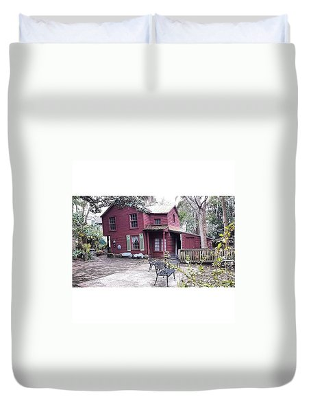 The Carpenter's House Duvet Cover