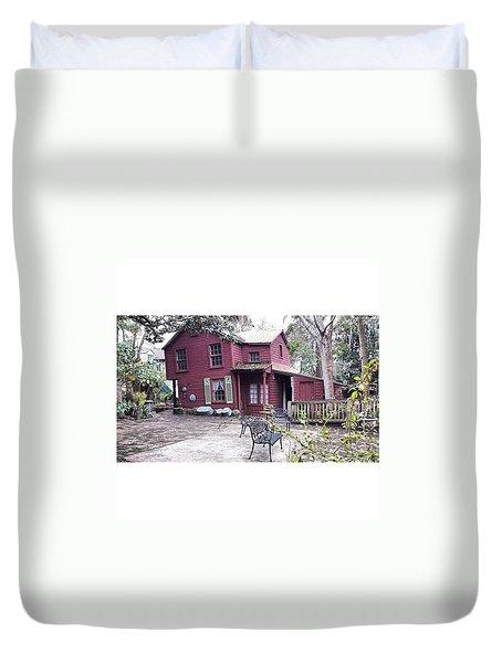 The Carpenter's House Duvet Cover by Janel Cortez