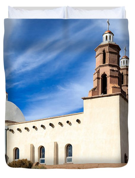 The Chapel Of All Saints Duvet Cover