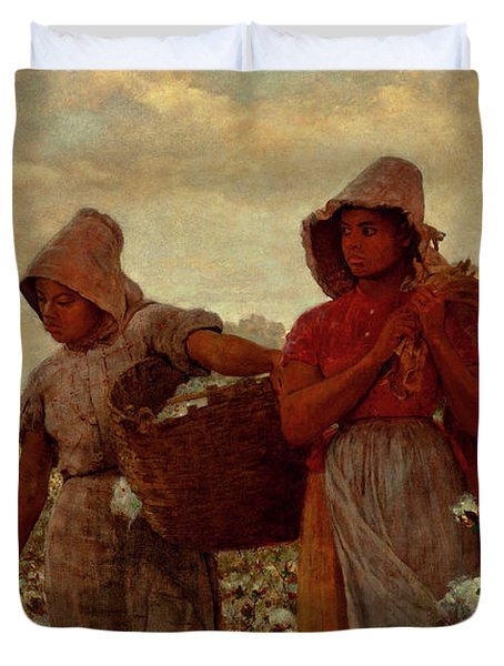 The Cotton Pickers Duvet Cover