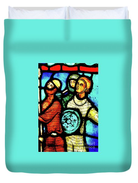 The Crusaders Duvet Cover