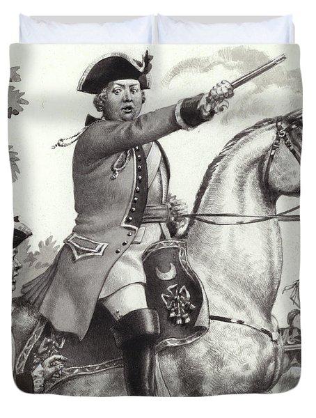 The Duke Of Cumberland Duvet Cover