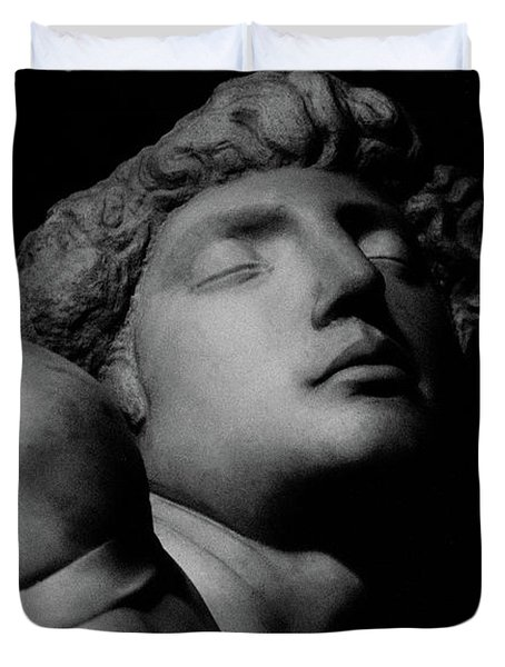The Dying Slave Duvet Cover by Michelangelo Buonarroti