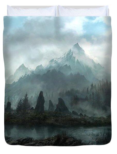 The Elder Scrolls V Skyrim Duvet Cover