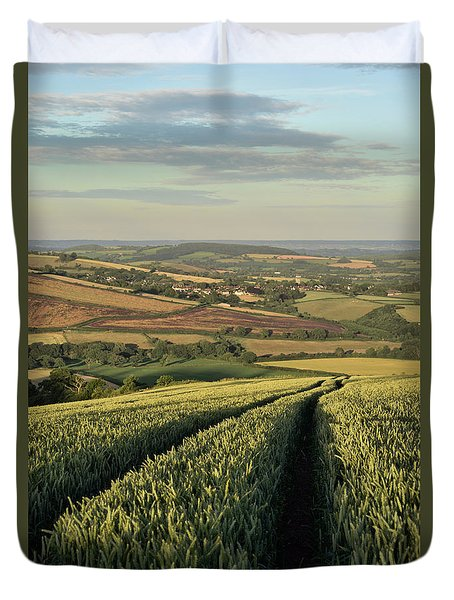 The Exe Valley Duvet Cover