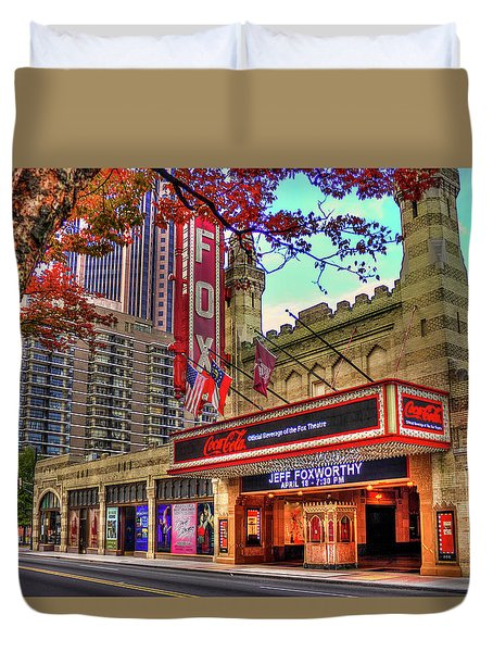 The Fabulous Fox Theatre Atlanta Georgia Art Duvet Cover