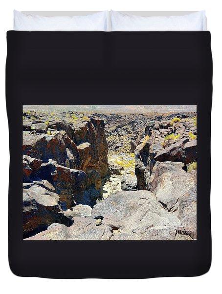 The Falls Duvet Cover