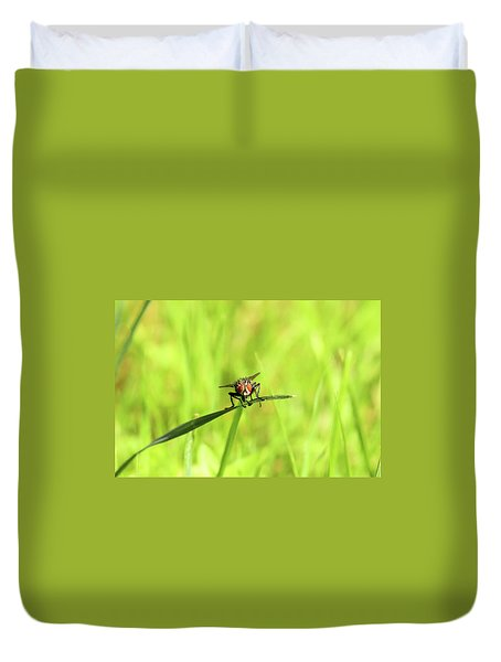 The Fly Duvet Cover