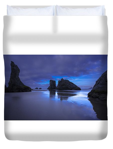The Gathering Front Duvet Cover