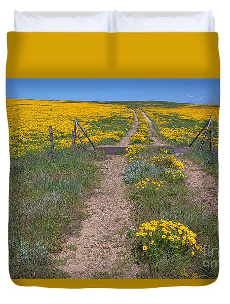 The Golden Gate Duvet Cover