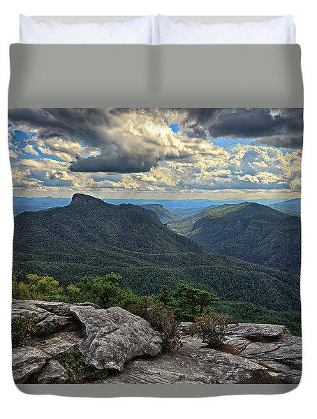 The Gorge Duvet Cover