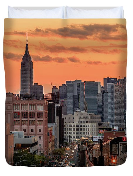 The Heart Of The City Duvet Cover