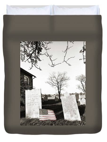 The Hero Duvet Cover by Jan W Faul